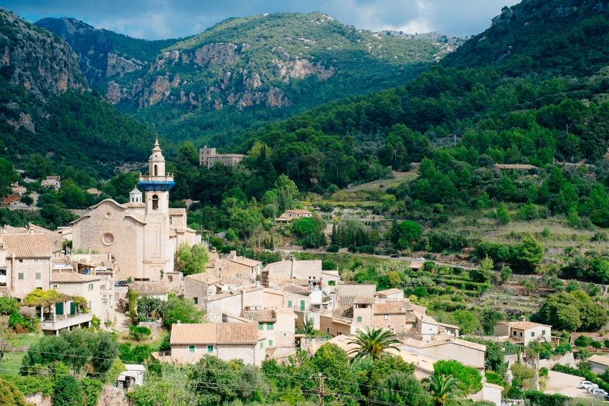Liten by på Mallorca