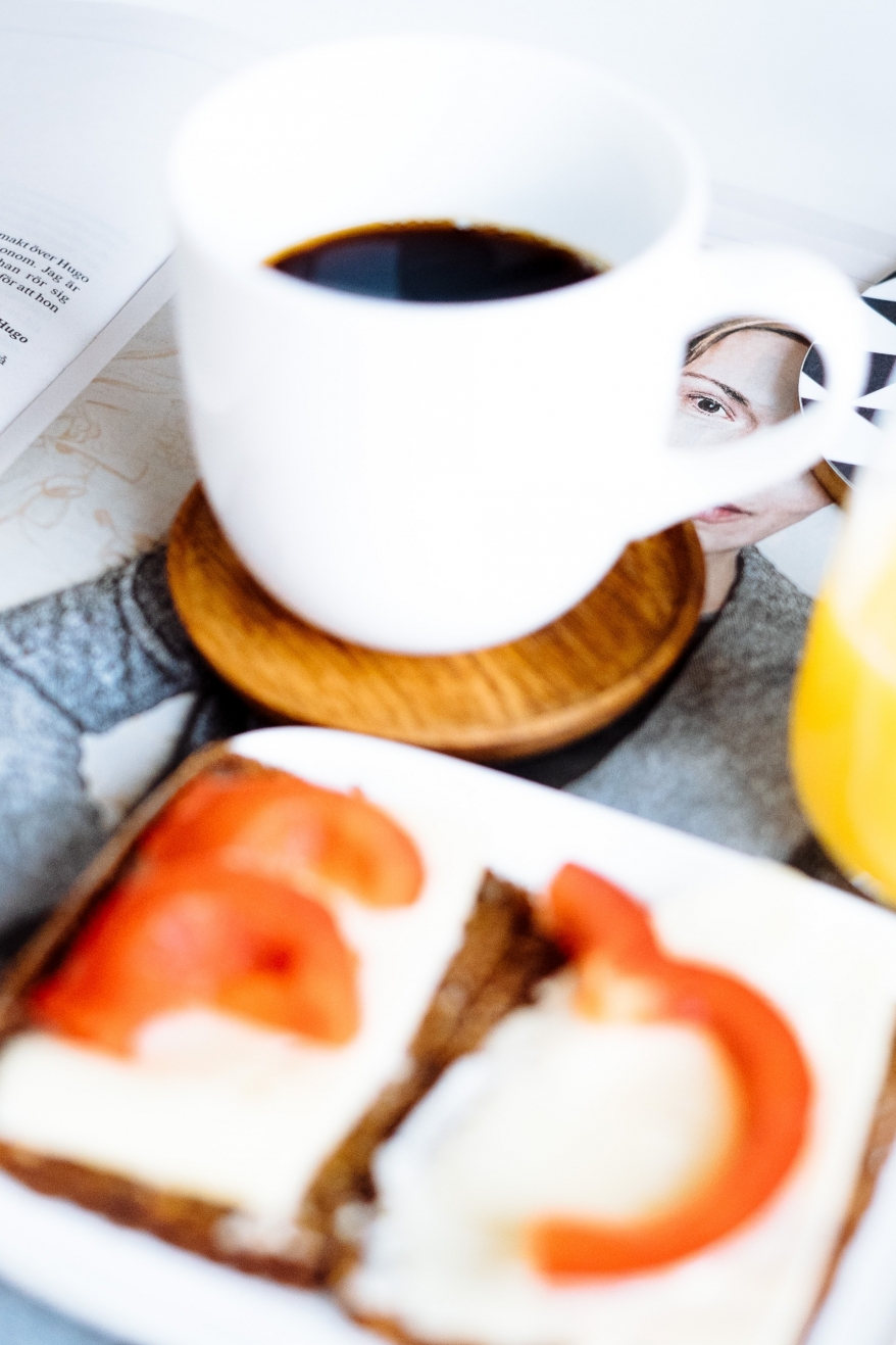 Frukost och Svenska Dagbladet Kultur