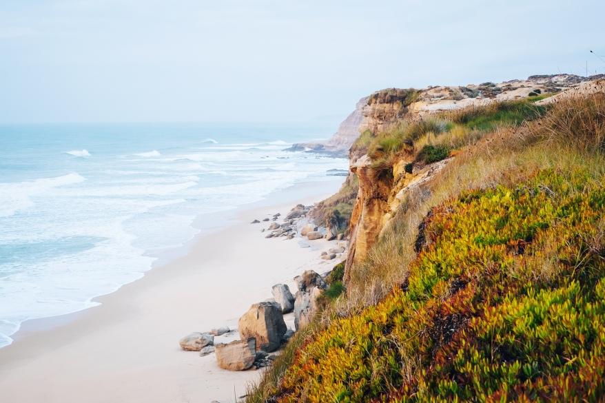 Klippor vid havet, Portugal