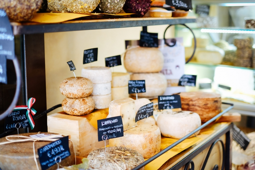 Cheese in Tuscany