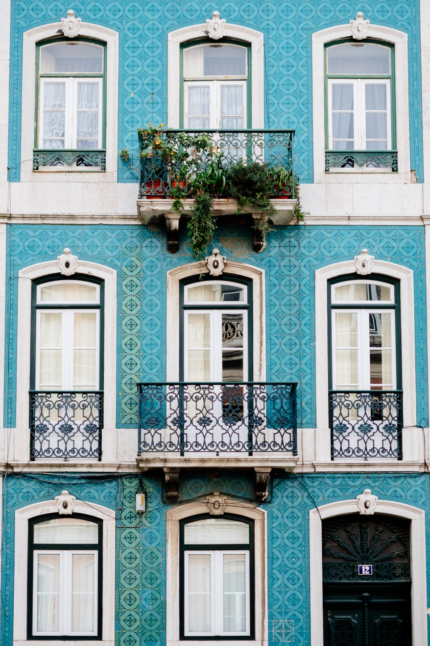 House with blue tiles, Lisbon