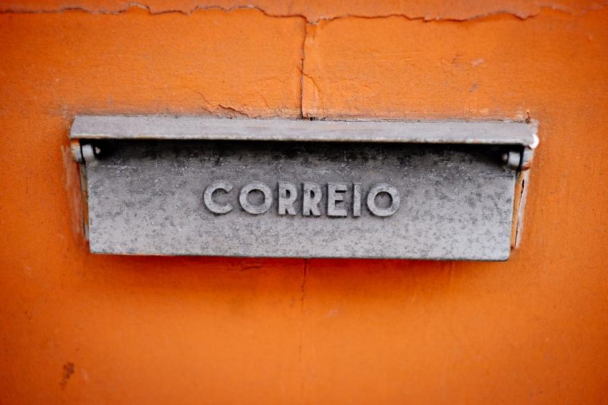 mail box, Lisbon