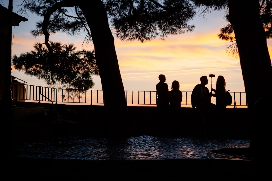 Couples watching the sunset, Lisbon