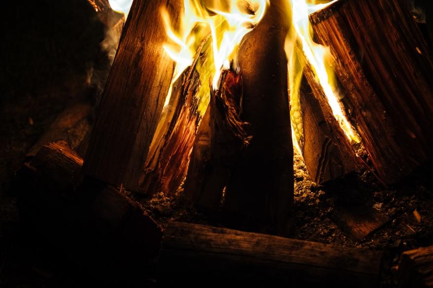Fire. Photographer: Helena Bergqvist.